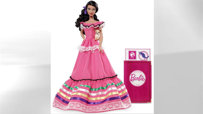 Mexico Barbie, with Pink Passport and Chihuahua